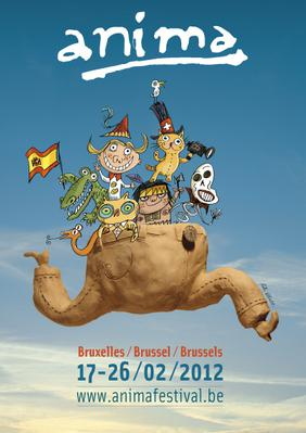 Brussels Cartoon and Animated Film Festival (Anima) - 2012