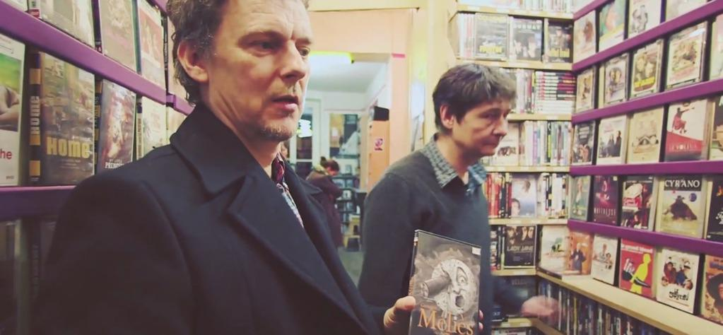 Michel Gondry and the video store: The Cinephile's Labyrinth