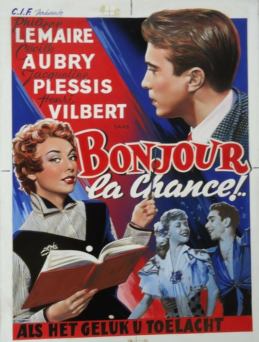 Bonjour la chance - Poster - Belgium