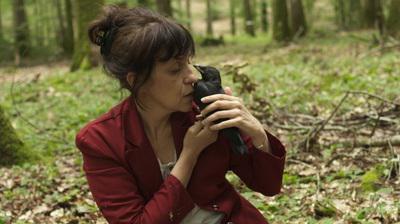 Isabelle en forêt