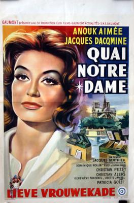 Quai Notre-Dame - Poster Belgique