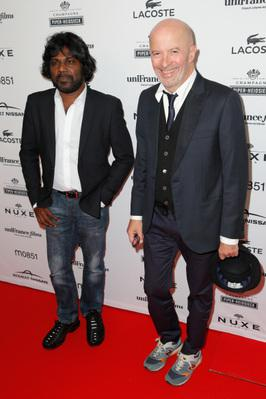 Toronto International Film Festival in pictures - Anthonythasan Jesuthasan et Jacques Audiard - © UniFrance films