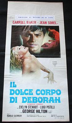El Dulce cuerpo de Deborah - Poster - Italie