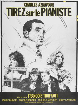 Disparad al pianista - Poster France