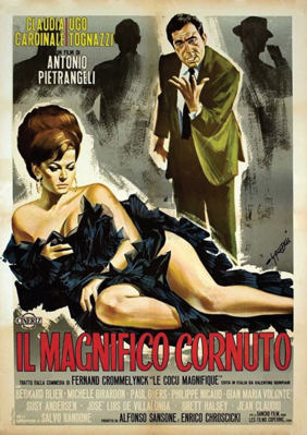 The Magnificent Cuckold - Poster - Italy