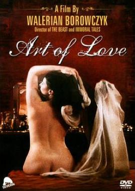 L'Art d'aimer - Jaquette DVD Etats-Unis