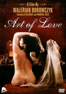 The Art of Love - Jaquette DVD Etats-Unis