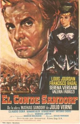 El Conde Sandorf - Poster Espagne