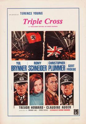 Triple Cross - La verdadera historia de Eddie Chapman - Poster - Spain