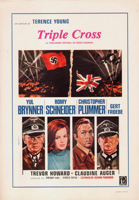 Triple Cross - Poster - Spain