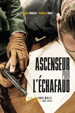 Ascenseur pour l'échafaud - version restaurée - Affiche version restaurée 2015