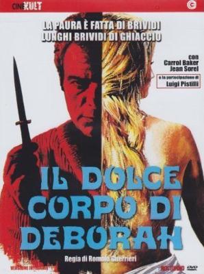 L'Adorable Corps de Déborah - Jaquette DVD - Italie