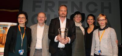 UniFrance décerne un French Cinema Award à Torsten Frehse - Sabine Chemaly, Jean-Paul Salomé, Torsten Frehse, Dorothée Pfistner, Isabelle Giordano, Sylvia Müller