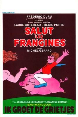 Salut les frangines - Poster Belgique