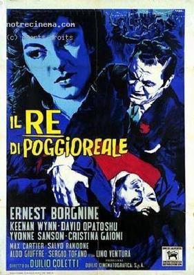 The King of Poggioreale (Black City) - Poster - Italy