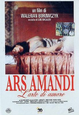 The Art of Love - Poster Italie