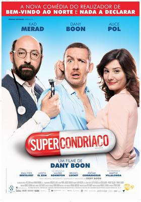 Supercondriaque - Poster - Portugal