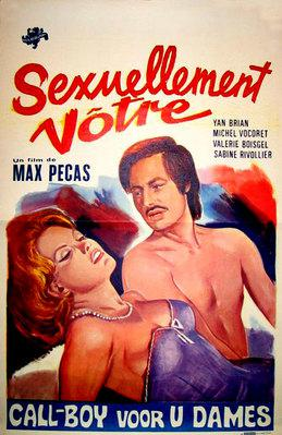 Sexuellement vôtre - Poster Belgique
