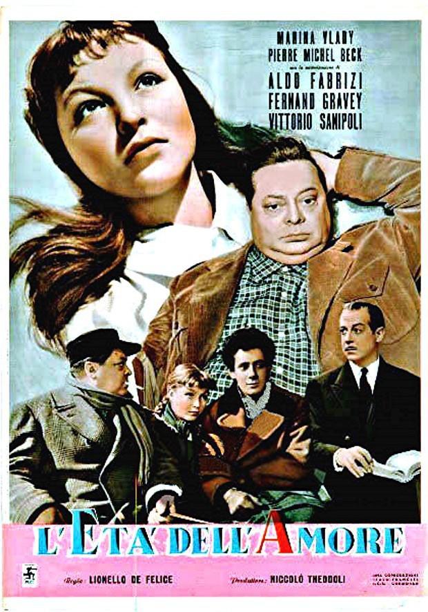 L'Âge de l'amour - Poster - Italie