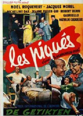 À rebrousse-poil (ou Les Piqués) - Poster Belgique
