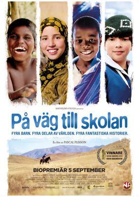 Sur le chemin de l'école - Poster - Sweden