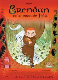 Brendan and the Secret of Kells - Poster - France - © Les Armateurs