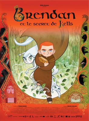 Brendan and the Secret of Kells - Poster - France - © Les Armateurs