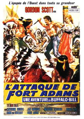 L'Attaque de Fort Adams (Une aventure de Buffalo Bill)