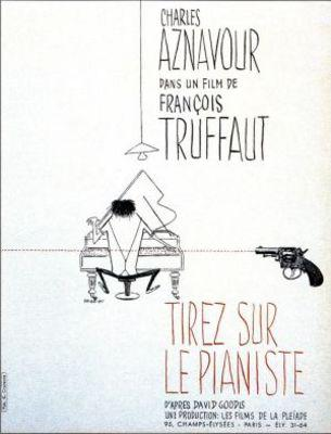Tirez sur le pianiste - Poster France