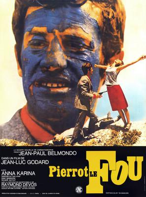 Pierrot el loco - Poster France