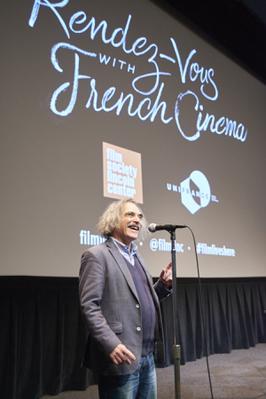 Exito histórico de la edición 2018 de los Rendez-Vous con el Cine Francés de Nueva York - Q&A Eugène Green - © @Jean-Baptiste Le Mercier/UniFrance
