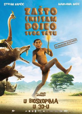 El Reino de los monos - Poster - Serbia