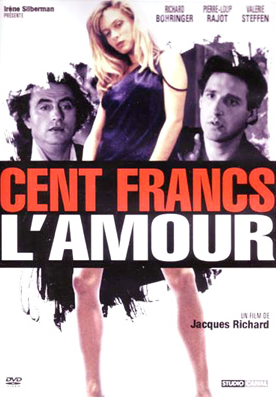 Cent francs l'amour - Jaquette DVD