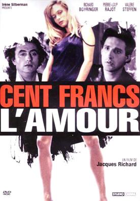 Cent francs l'amour - Jaquette DVD