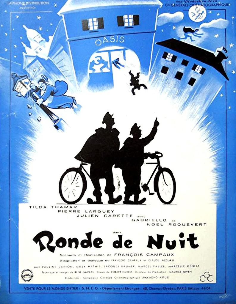 ronde de nuit 1949 unifrance films. Black Bedroom Furniture Sets. Home Design Ideas
