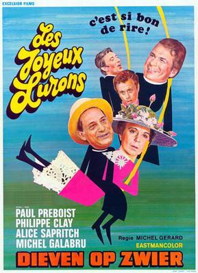 Les Joyeux Lurons - Poster Belgique