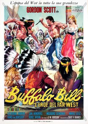 L'Attaque de Fort Adams (Une aventure de Buffalo Bill) - Poster Italie