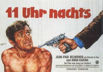 Pierrot le Fou - Poster Allemagne