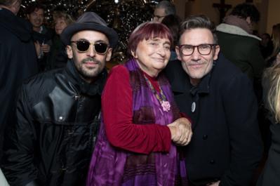 Agnès Varda célébrée par la grande famille du cinéma, de l'art et de la culture