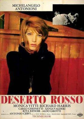 El Desierto rojo - Poster - Italy