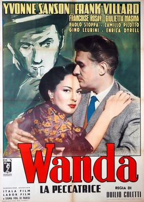 Wanda la pécheresse - Poster - Italie