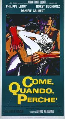 Come, quando, perché - Poster - Italy