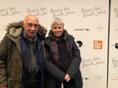 Succès historique pour l'édition 2018 des Rendez Vous with French Cinema in New York - Raymond Depardon et Claudine Nougaret - © @Jean-Baptiste Le Mercier/UniFrance