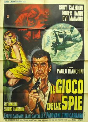 El Juego de los espías - Poster Italie