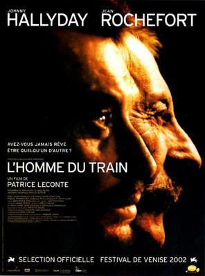 Man on the Train - Poster France