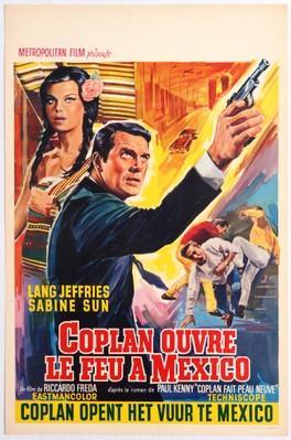 Coplan ouvre le feu à Mexico - Poster - Belgium