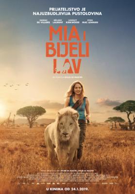 Mia and the White Lion - Poster - Croatia