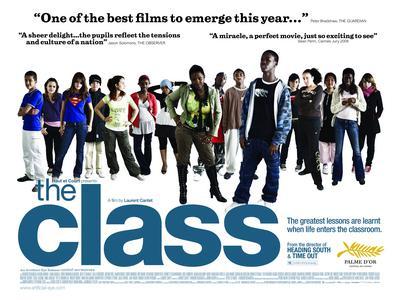 The Class - Affiche UK