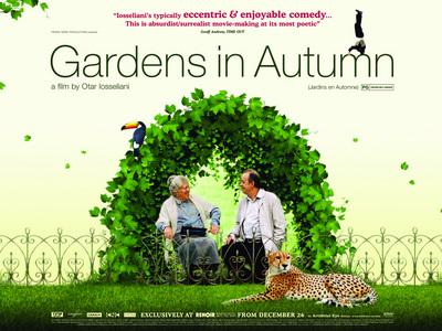 Jardines en otoño - Poster UK
