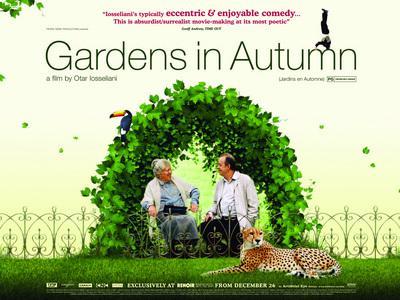 Jardins en automne - Poster UK